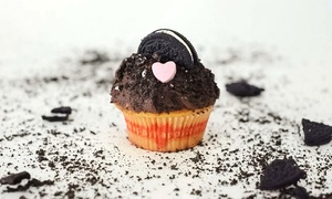 "happykappy Cupcakes: 2 Stunden Cupcake-Kurs ""Sprinkle Good Time"" inkl. Prosecco und Kaffee-Flat für 1 Person (62% sparen*)"