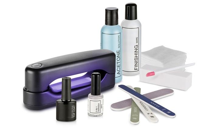 Set per unghie con lampada UV Macom compatta a 50 € (58% di sconto)