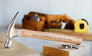 acfe1bd09b Shop Groupon Up to 55% Off Personalized Hammers from Qualtry