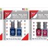 MLS Nail Polish and Nail Decal Sets (2-Pack)