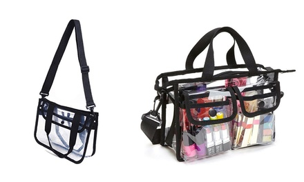 Clear Waterproof Toiletry Cosmetic Bag: One ($14.95) or Two ($26.95)