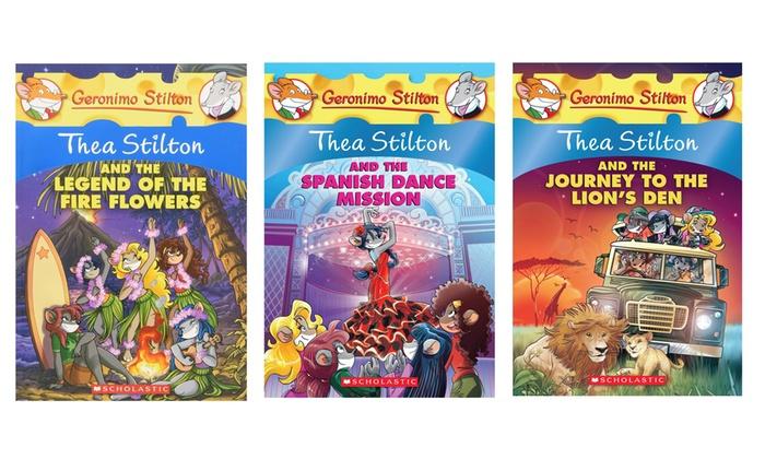 3 Pack Thea Stilton Books