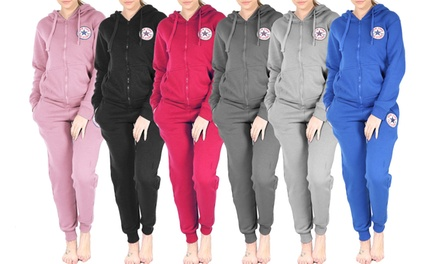 New York All Star Hooded Zip Tracksuit