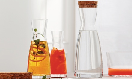 Bormioli Rocco Ypsilon Water Carafe Decanter with Optional Lid