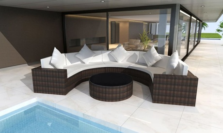 Conjuntos de sofás de jardín de 17, 21 o 37 piezas Oferta en Groupon