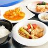 大阪府/四ツ橋 ≪海鮮・肉料理、揚物など中華ランチ6品+(コーヒーorデザート)≫