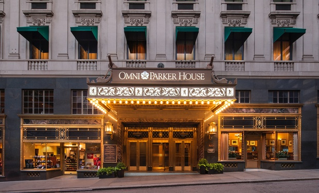 Omni Parker House Boston Ma Stay At In