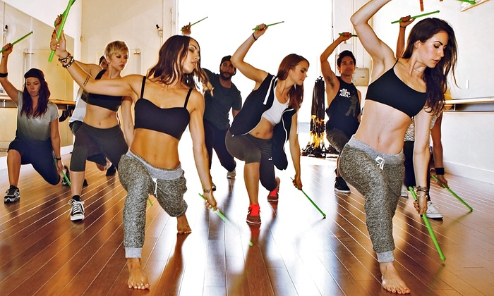Maverick Fitness Studios - Wyman Arts Center: 10 or 20 Pound Fitness or Maverick Dance Party Classes at Maverick Fitness Studios (Up to 54% Off)