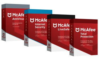 Paquets McAfee Anti Virus