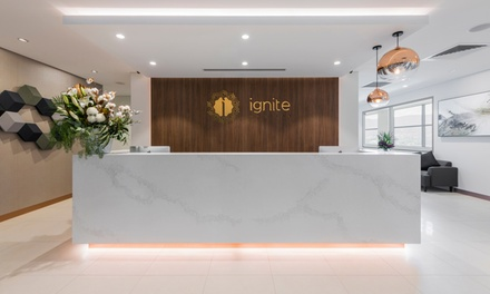 6 Sessions of Laser Hair Removal: Brazilian and Underarms ($169) + Half Legs ($359) at Ignite Medispa (Up to $954 Value)