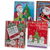 Jumbo Christmas Gift Bags with Glossy Finish (12-Pack)
