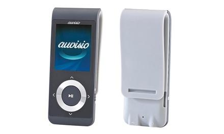 Reproductor de música MP4 con opción a tarjeta microSD de 16GB Auvisio
