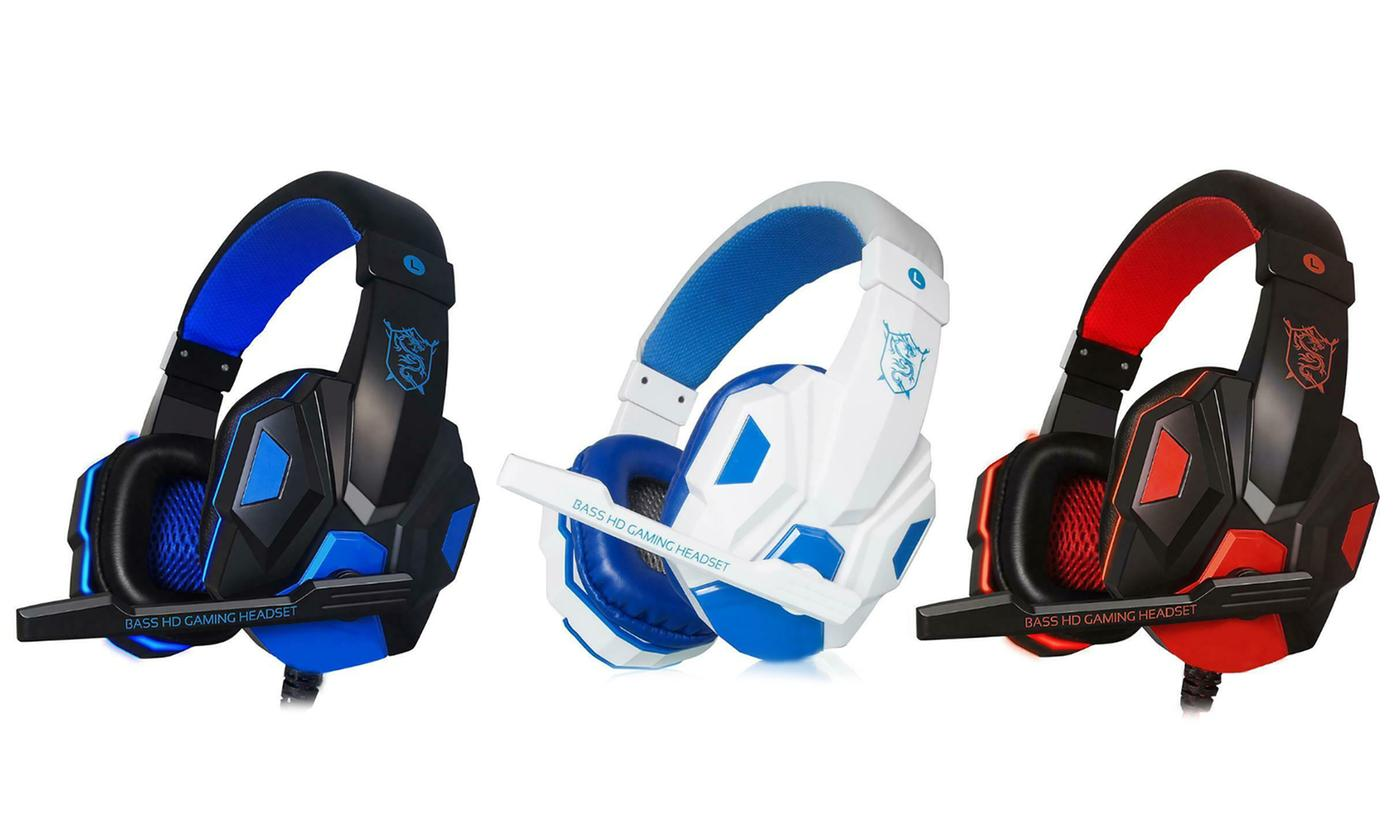 Wired PC Gaming Headset
