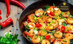Bar e Restaurante Vereda Tropical: Vereda Tropical – Barra da Lagoa: sequência de camarão para 2 ou 4 pessoas