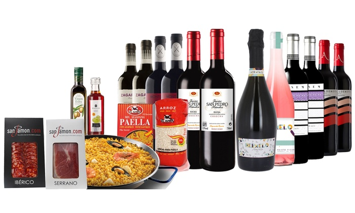 San Jamon: Spanish Food and Wine Hamper