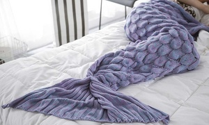 Scaled Mermaid Tail Blanket at Scaled Mermaid Tail Blanket, plus 6.0% Cash Back from Ebates.