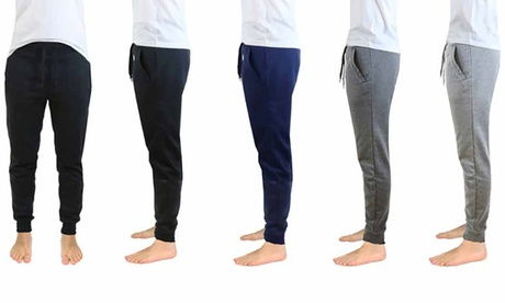 Men's French Terry Lounge Sleep Joggers 4a4feb97-6e45-46db-ae04-b0dcbfee873e