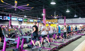 Planet Fitness: $12 for 1-Month Black Card Gym Membership with Enrollment Fee Included at Planet Fitness ($87.99 Value)