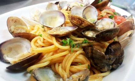 Entrée, plat et dessert valable midi et soir pour 2 personnes à 45,90 € au restaurant O Soleil De Naples