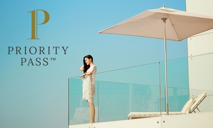 Up to 50% Off Airport Lounge Membership with Priority Pass, Multiple Locations (Merchandising (UK))