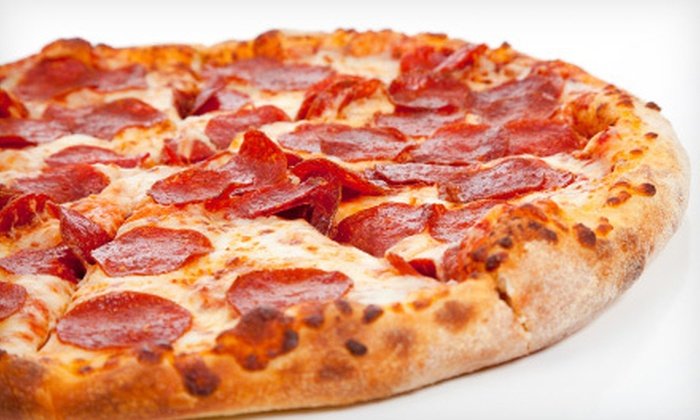 Toni Pepperoni Express - South Lockport: $15 for Two Large Pizzas with Two Toppings or Two Large Specialty Pizzas at Toni Pepperoni Express (Up to $30.58 Value)