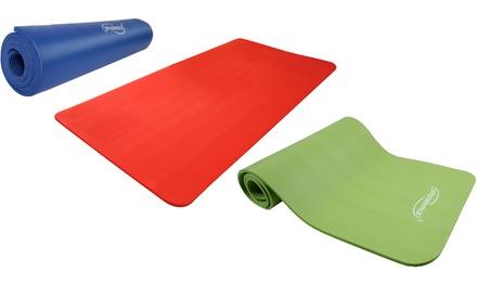 Tappetino yoga Physionics disponibili in 2 dimensioni e 3 colori