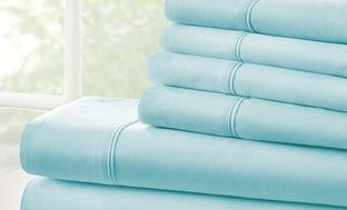 Microfiber Merit Linens 6Pc. Bed Sheets Sets