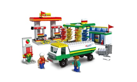 500-Piece Big City Service Station