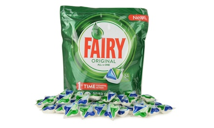 Fairy All in One Original Spülmaschinen Tabs 84, 168, 252 oder 336 St