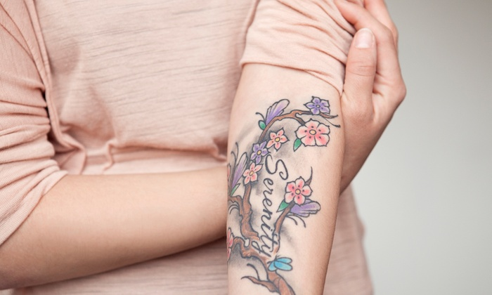 Hulya's Aesthetic & Wellness (Clarksville) - Multiple Locations: Laser Tattoo Removal on an Area of Up to 3, 6, or 10 Square Inches at Hulya's Aesthetic & Wellness (Up to 68% Off)
