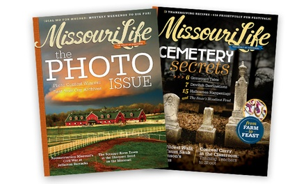 "$7 for a One-Year Subscription to ""Missouri Life"" ($19.99 Value)"