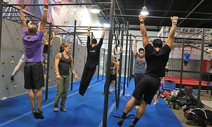 Trampolines, Obstacle Course, and Climbing at Ninja Lounge (Up to 57% Off). Four Options Available.