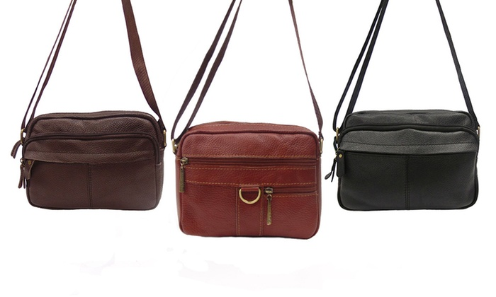 Le Sac Leather Crossbody Bags
