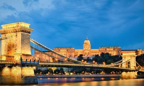 Budapest: habitación doble estándar, twin o superior para 2 personas con desayuno en Gold Hotel 4*