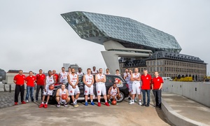 Port of Antwerp Giants BE: Inkomticket Port of Antwerp Giants voor 1 of 2 volwassenen