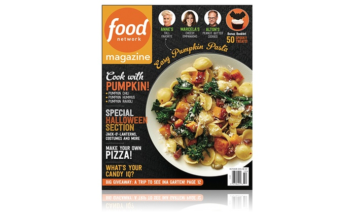 1-Year, 10-Issue Subscription to Food Network Magazine