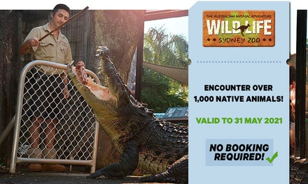 WILD LIFE Sydney: Child ($24.60) or Adult ($35) Entry (Up to $44 Value) - Valid till 31st May 2021