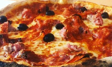Menu con pizza a scelta e birra