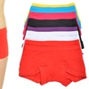 Girls' Cotton Boxers (12-Pack)