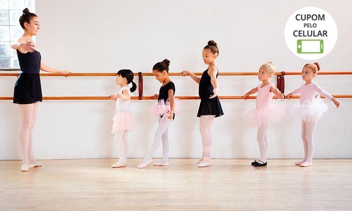 Pole Arte Studio – Vicente Pires: 1 ou 3 meses de psicodança, balé infantil ou balé adulto