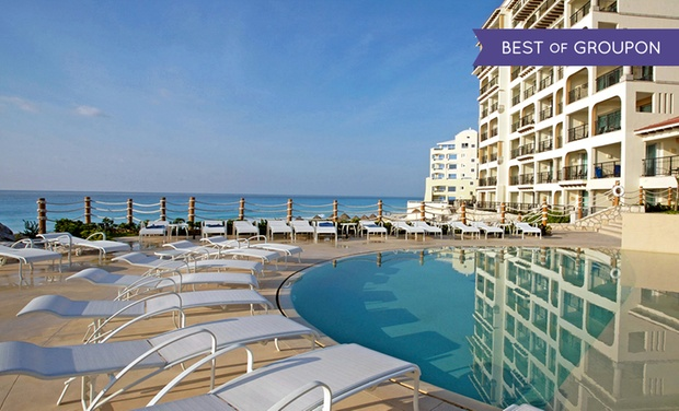 TripAlertz wants you to check out ✈ All-Inclusive Grand Park Royal Cancún Caribe Stay with Airfare. Price per Person Based on Double Occupancy. ✈ Grand Park Royal Cancun Caribe Stay w/ Air from Apple Vacations - All-Inclusive Cancún Vacation