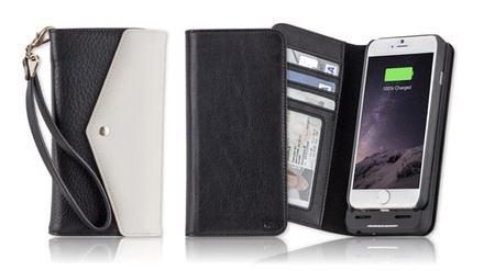 $49 for a Genuine Leather Charging Wallet or Charging Wristlet for iPhone 6/6s from Case-Mate ($100 Value)