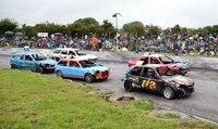 Entry to Brisca F2 Stock Cars, Banger Racing and S and S Trophy Rods at Mendips Raceway, 18 September (Up to 50% Off)
