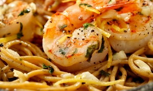 Shells Seafood Restaurant-South Tampa: Seafood, Pasta, and Sandwiches for Lunch or Dinner at Shells Seafood Restaurant-South Tampa (Up to 40% Off)