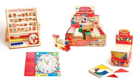 Educatief speelgoed van hout vanaf € 6,99 (tot 47% korting)