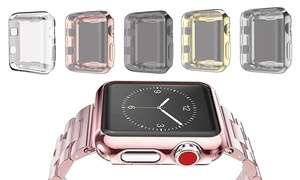 Waloo Electroplate Case for Apple Watch Series 1, 2, & 3 (2-Pack)