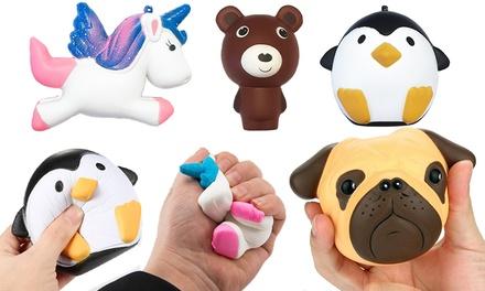 One, Two or Four SlowRising Giant Animal Squishy Toys