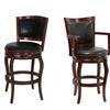 "Cherry-Finish Pedestal Pub Table, Harris 29"" Stool, or Jones 29"" Stool"