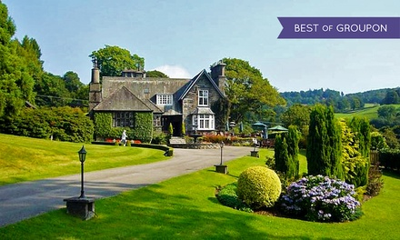 Lake District: 1 Night for Two with Breakfast, 4-Course Dinner, Cream Tea and Spa Access at 5* Broadoaks Country House