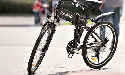 Tucano Electric Hide Bike MTB With Free Delivery